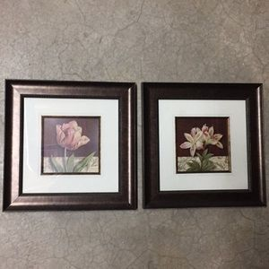 Other - New (2) 10x10 postcard floral by Linens-n-things
